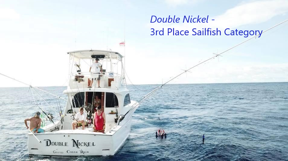 double nickel 3rd place sailfish