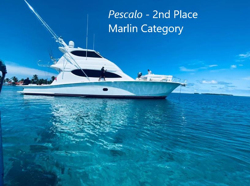 pescalo 2nd place marlin