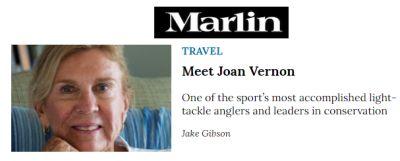 Marlin Magazine article